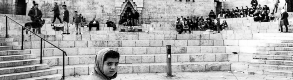 10_Like an ant in Jerusalem_Children in Damasco Gate