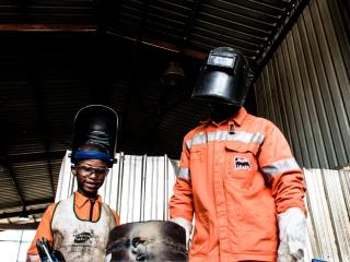 …a welder